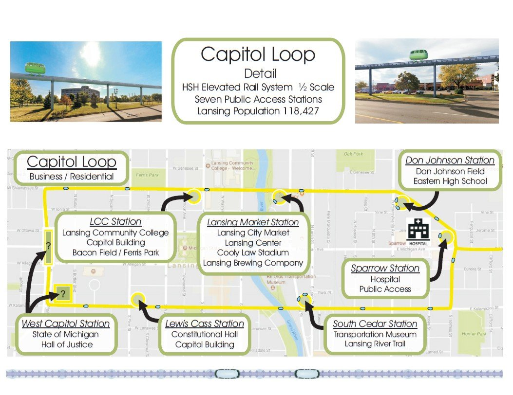 Capitol Center Loop Detail